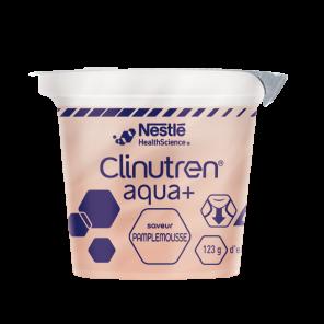 Clinutren Aqua Saveur Pamplemousse 4 X 125 G