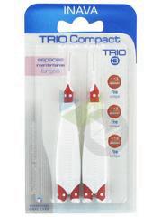 Trio Compact Brossette Tu Fine Blister 6