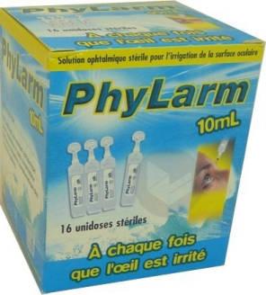 Phylarm 0 9 S Oculaire Irrigation 16 Unidoses De 10 Ml