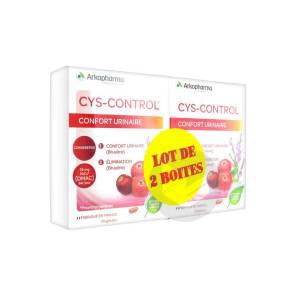 Cys Control Confort Urinaire Lot De 2 X 20 Gelules