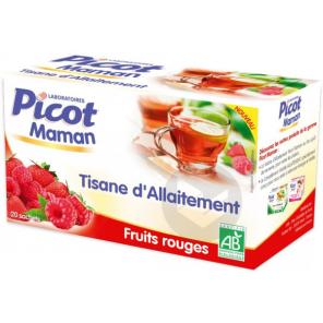 Maman Tisane D Allaitement Bio Fruits Rouges 20 Sachets