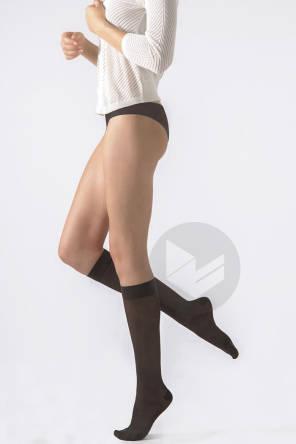 Chaussettes Semi Transparentes Noires Taille S Hauteur Normale