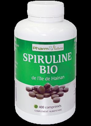 Pharm Nature Spiruline Bio Cpr 400