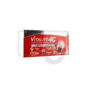Vitalite 4 G Dynamisant S Buv 10 Shots 10 Ml