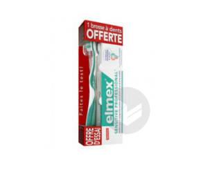 Sensitive Dentifrice Professional Blancheur 1 Brosse A Dents Offerte