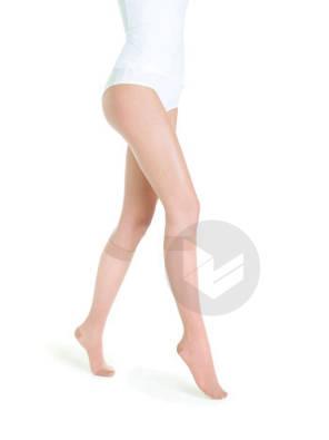 Chaussettes Transparentes Classe 2 Beige 110 Taille S Longueur Normale