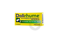Paracetamol Et Pseudoephedrine 500 Mg 30 Mg Comprime Plaquette De 16