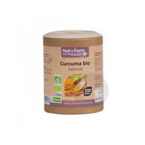 Nat Form Eco Responsable Curcuma Madras Bio Gel B 200