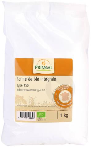 Farine De Ble Integrale T 150 1 Kg