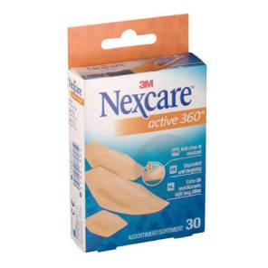 3 M Nexcare Active 360 30 Pansements Assortis