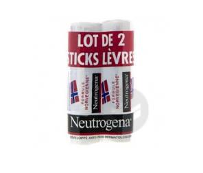 Stick Levres Formule Norvegienne Lot De 2 Stick 4 8 G