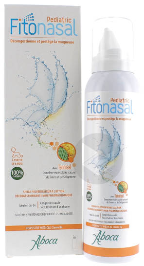 Fitonasal Pediatric Spray Nasal