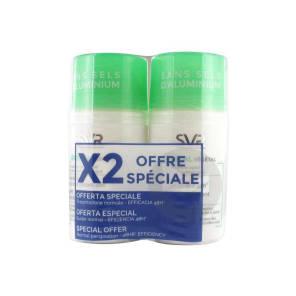 Spirial Deodorant Soin Anti Transpirant Vegetal 2 Roll On 50 Ml