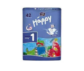 Couche Happy Taille 1 2 5 Kg X 42 Couches
