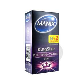 King Size 14 Preservatifs 2 Preservatifs Offerts