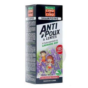 Shampooing Anti Poux Lentes Lavande 100 Ml
