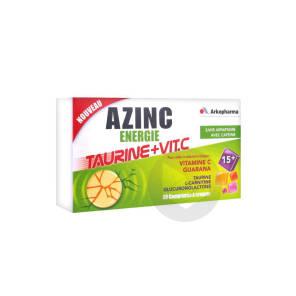 Azinc Energie Taurine Vit C Cpr A Croquer Des 15 Ans B 30