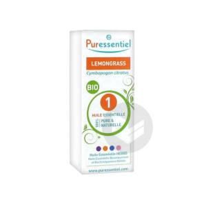 Expert Huile Essentielle Bio Lemongrass Fl 10 Ml