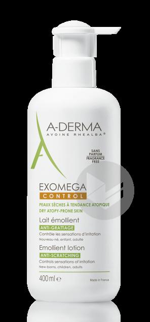 A Derma Exomega Control Lait Emollient 400 Ml
