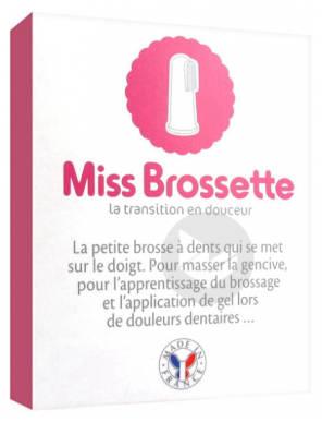 Miss Brossette Doigtier Brosse A Dents