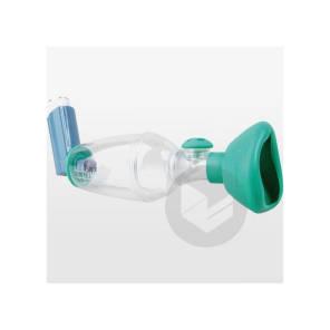 Tips Haler Chambre Inhalation Avec Masque Pediatrique Orhal 12 Mois 6 Ans