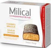 Hyperproteine Barre Chocolat Orange Etui 6
