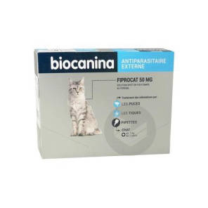 Fiprocat 50 Mg S P Pour On 3 Pipettes 0 5 Ml