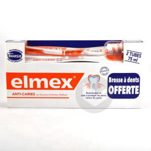 Anti Caries Pate Dentifrice 2 T 75 Ml Brosse A Dents