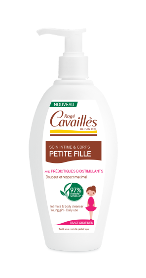 Soin Intime Corps Naturel Pour Petite Fille 250 Ml
