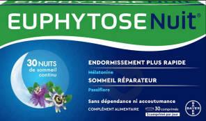 Euphytose Nuit 2 X 30 Comprimes
