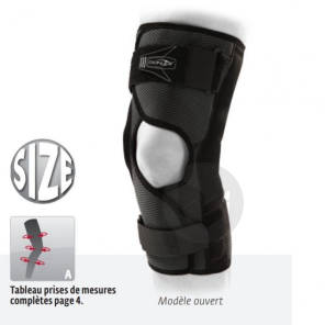 Attelle Genou Play Xpert Wrap Modele Ouvert Taille M