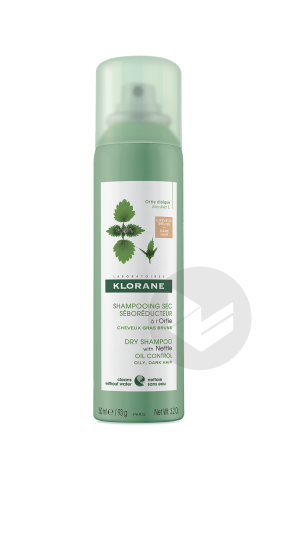 Shp Sec Ortie Cheveux Chatains A Bruns Spray 150 Ml