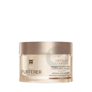 Rene Furterer Absolue Keratine Masque Reparateur Ultime Cheveux Normaux A Fins 200 Ml