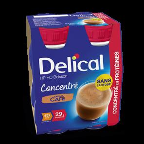 Delical Boisson Hp Hc Concentre En Proteines Sans Lactose Cafe