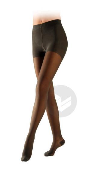 Collant Essentiel Semi Transparent Noir Taille S Hauteur Normale