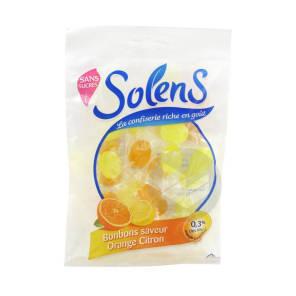 Sans Sucre Bonbon Orange Citron Sach 75 G