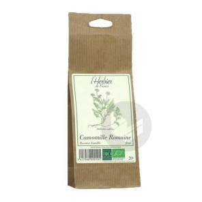 Camomille Romaine Fleurs Bio Sachet 20 G