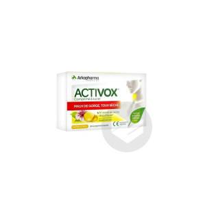 Activox Comprime A Sucer 24 Comprimes