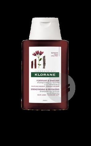 Quinine Vitamines Shampooing B 100 Ml