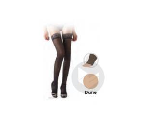Diaphane Classe 2 Bas Auto Fixant Pieds Ouverts Femme Dune Taille M Hauteur Normale