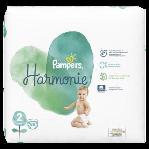 Couche Harmonie Taille 2 4 8 Kg X 86
