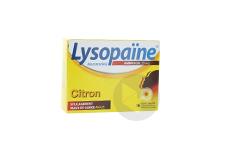 Lysopaine Ambroxol 20 Mg Pastille Pour Maux De Gorge Sans Sucre Citron Edulcoree Au Sorbitol Et Au Sucralose Plaquette De 18