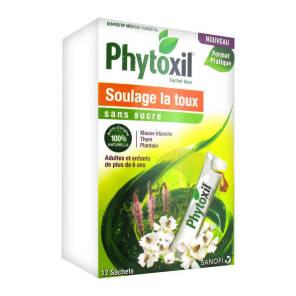 Phytoxil Toux Sans Sucre Adulte Enfant 6 Ans 12 Sachets De 10 Ml