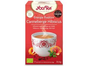 Energie Positive Canneberge Hibiscus 17 Sachets
