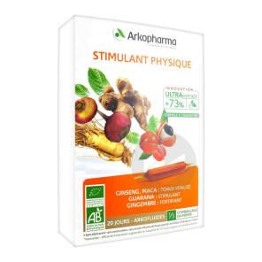Arkofluide Bio Ultraextract S Buv Stimulant Physique 20 Amp 10 Ml