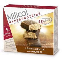 Hyperproteine Barre Chocolat Etui 6
