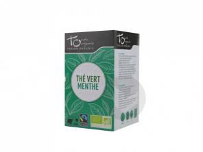 The Vert A La Menthe Bio 24 Sachets