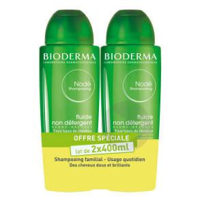 Node Shampoing Fluide Non Detergent Lot De 2 X 400 Ml