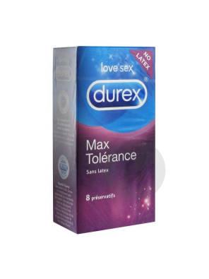 Max Tolerance Preservatif Poch 8