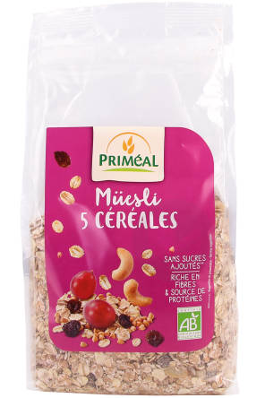 Muesli 5 Cereales 500 G